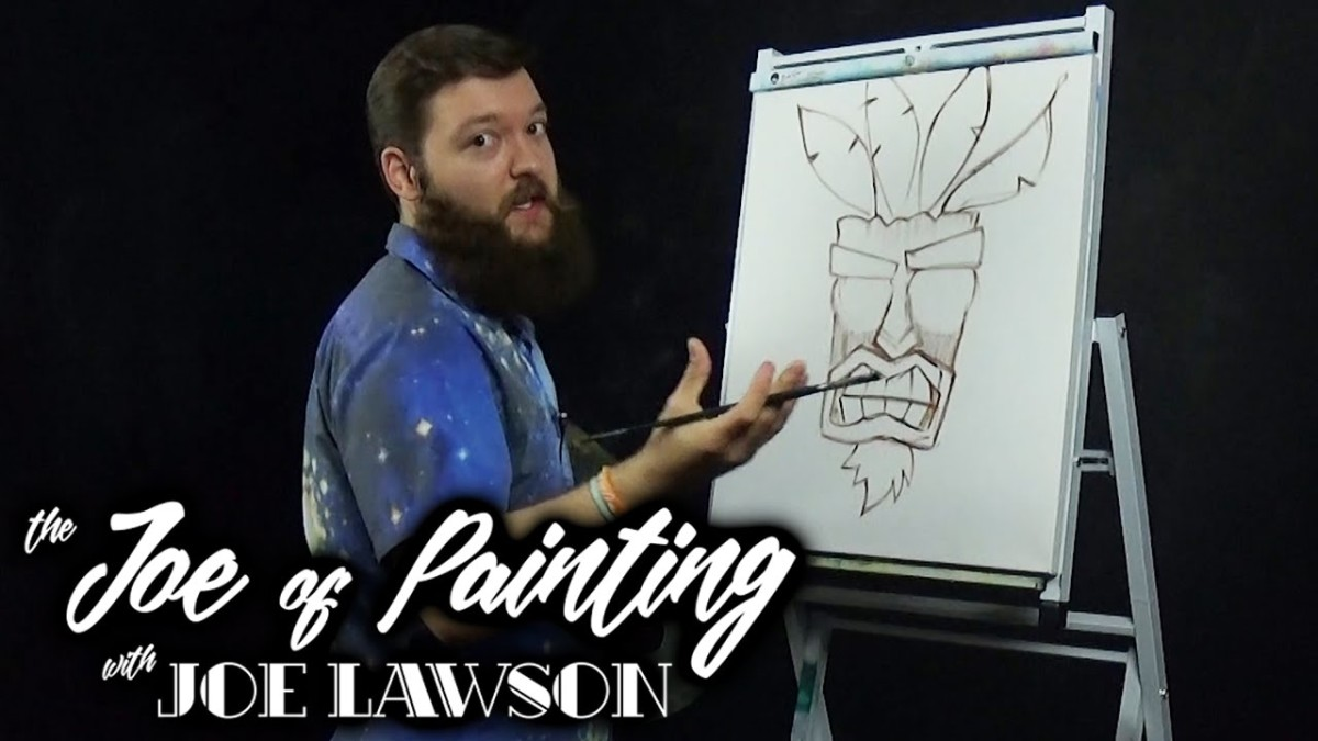 Tiki Terror | The Joe of Painting Episode 7