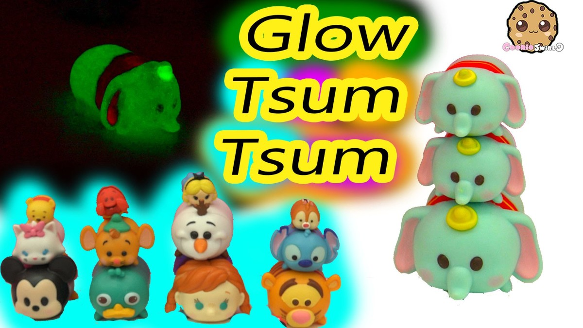 DIY Nail Polish Painting Craft of Disney Tsum Tsum Dumbo Toy Simple Do It Yourself Craft Video