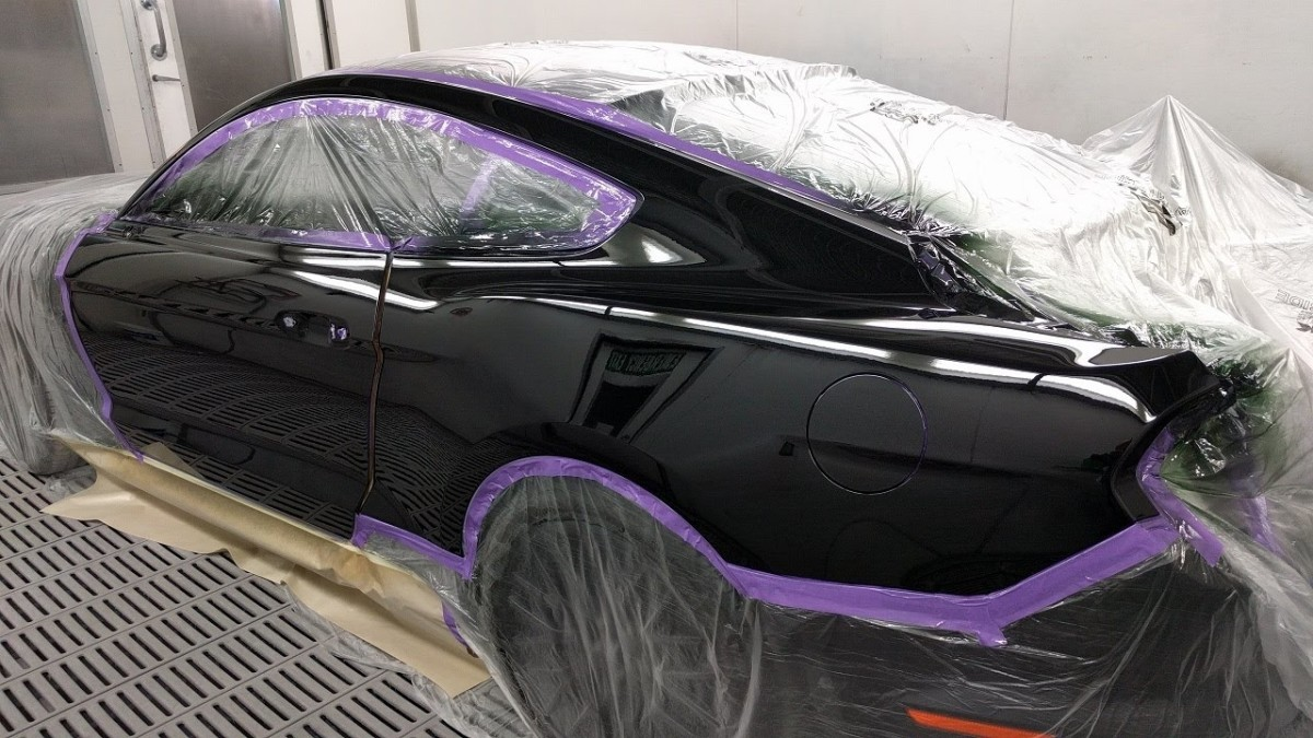 2016 GT Mustang Spray Painting