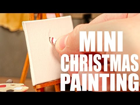 MINI CHRISTMAS PAINTING!