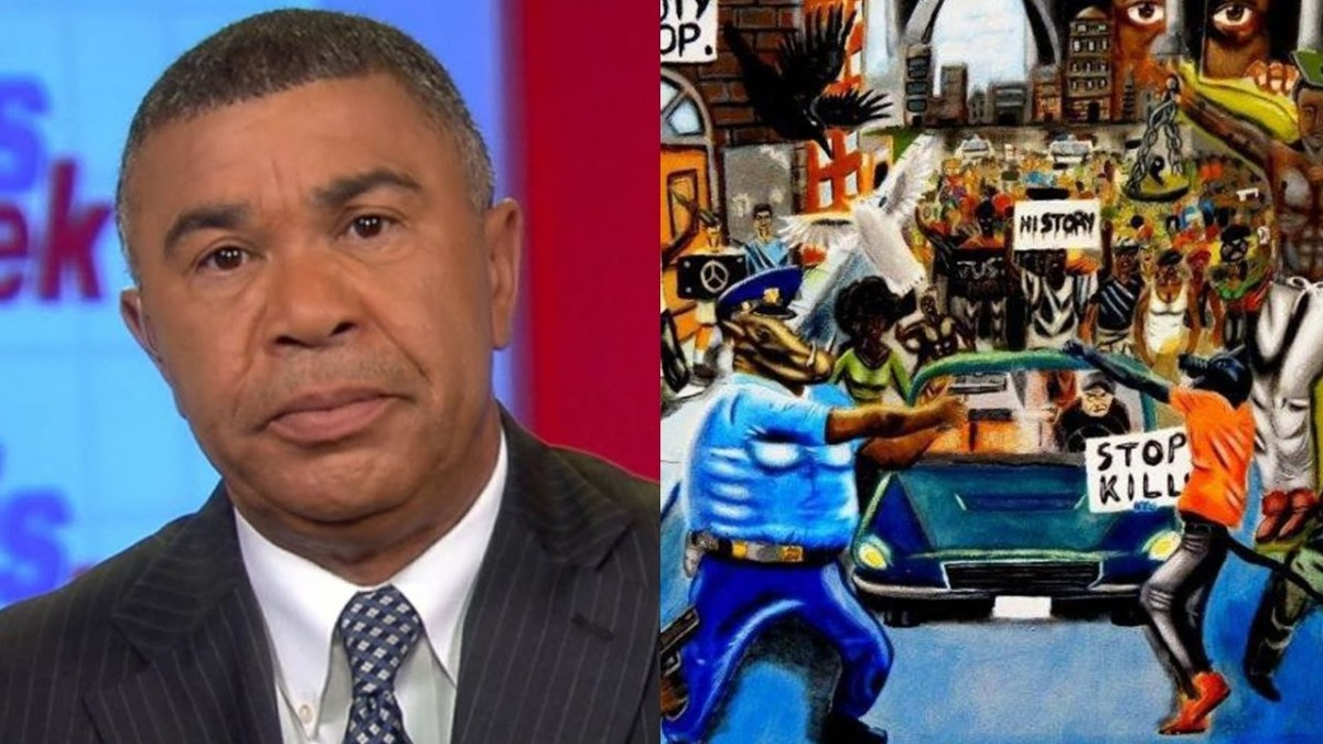 Congressional Black Caucus Hangs Painting of Cops as Pigs at Capitol Hill (REACTION)