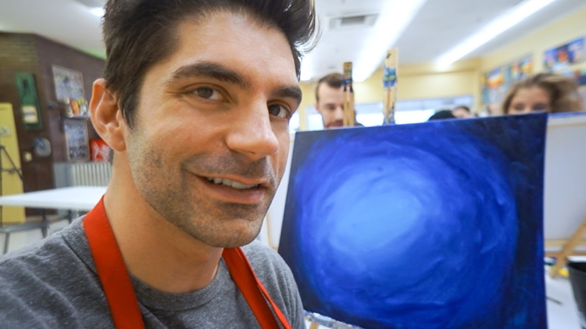 Painting with Joel, SideArms & Megan!