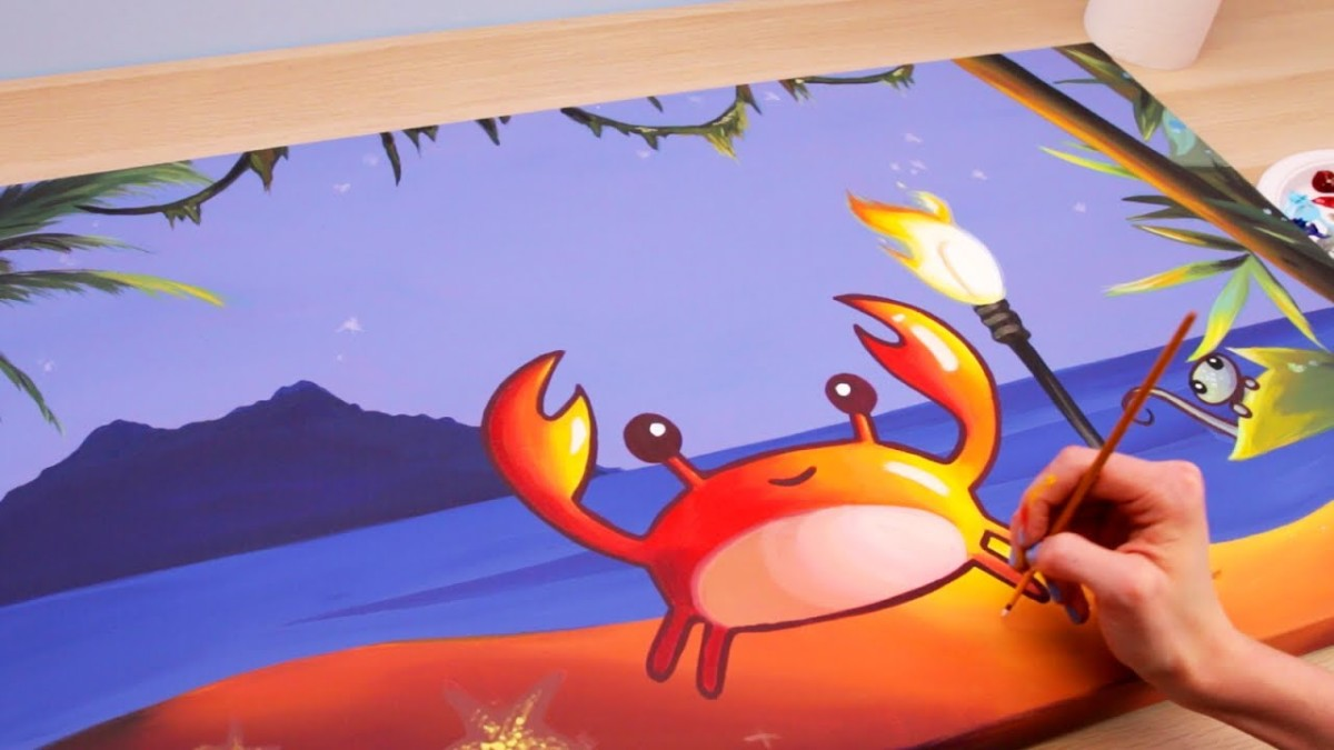 Little Crab Painting – original