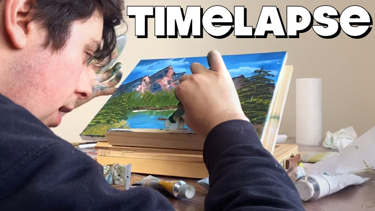 Time Lapse Painting – FUNKY MONDAY