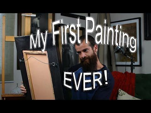 First Painting Ever. Cesar Santos vlog 022