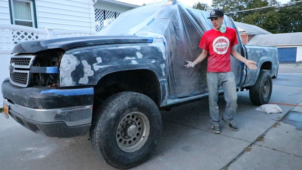 PAINTING My Truck Was DUMB…