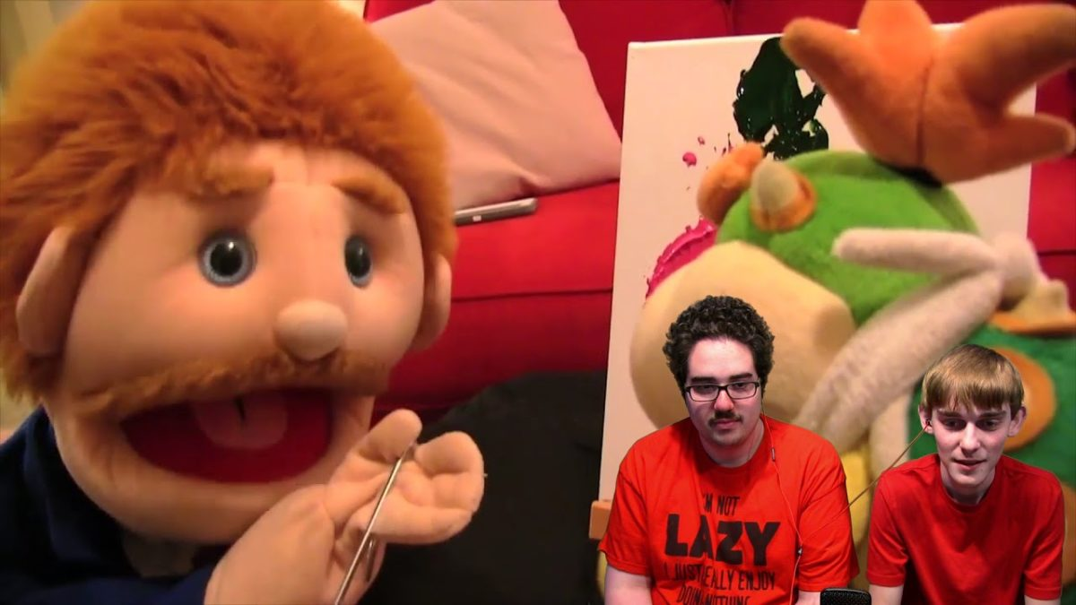 Logan Reacts: Bowser Junior's Painting